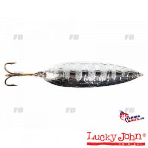Блесна колеб. Lucky John CROCO SPOON длин.67мм/18.0г 004