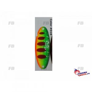 Блесна колеблющаяся Lucky John CROCO SPOON SHALLOW WATER CONCEPT 15.0г 018