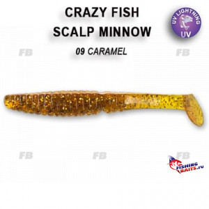 "Scalp minnow 3.2"" 7-80-9-2"