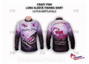Джерси Crazy Fish Catfish Battlefield - XL
