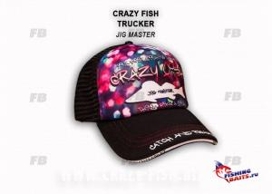 Кепка тракер Crazy Fish Jig Master