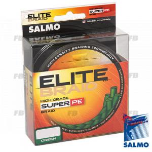 Леска плетёная Salmo ELITE BRAID Green 091/050