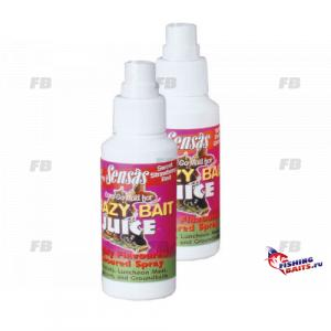 Спрей Sensas Crazy Bait SPRAYS Red Strawberry 0.075л