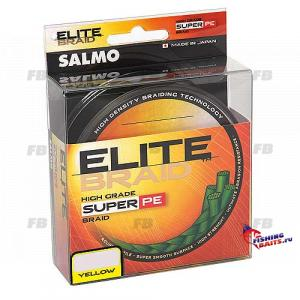 Леска плетёная Salmo ELITE BRAID Yellow 125/013
